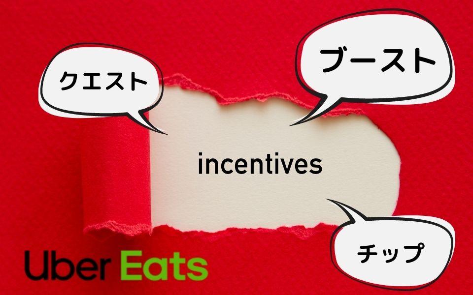 Uber Eats(ウーバーイーツ)インセンティブ
